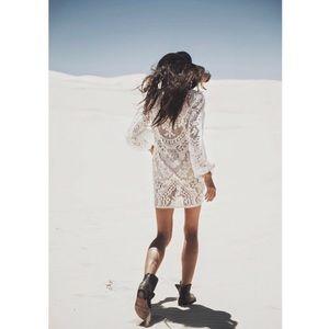 NWT Spell & The Gypsy Fleetwood Mini Dress